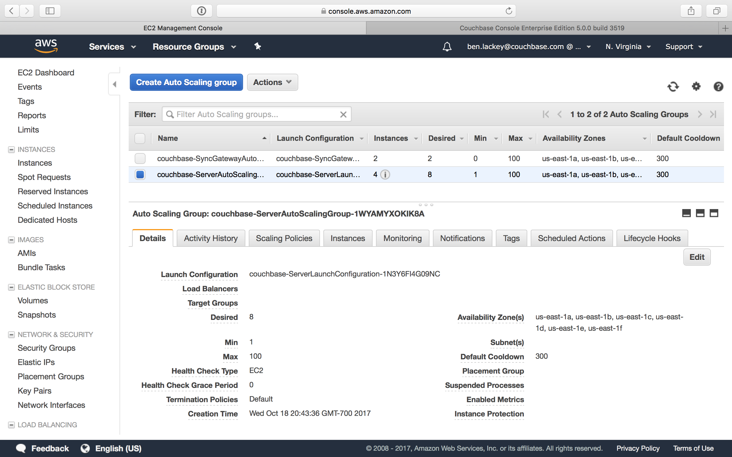 Deploying Couchbase from AWS Marketplace   Couchbase Docs